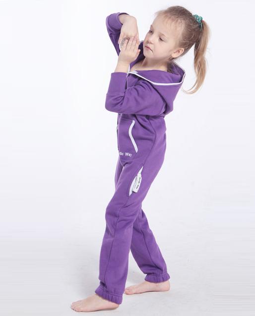 Детский комбинезон Onesie Original фиолетовый KOC15
