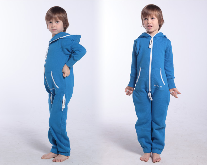 Детский комбинезон Onesie Original голубой KOC11 2