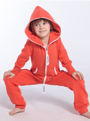 Детский комбинезон Onesie Original оранжевый KOC13 1