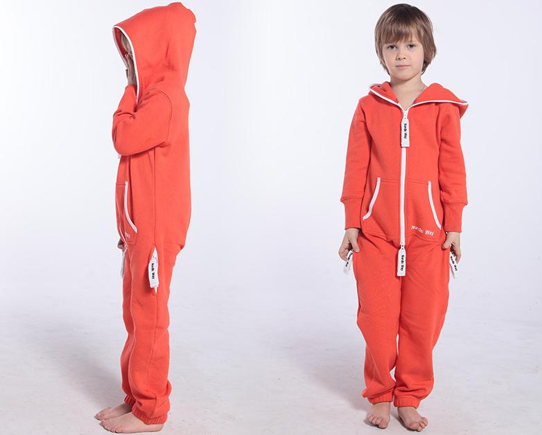 Детский комбинезон Onesie Original оранжевый KOC13 2