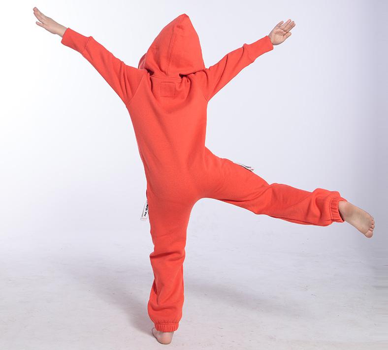 Детский комбинезон Onesie Original оранжевый KOC13 3