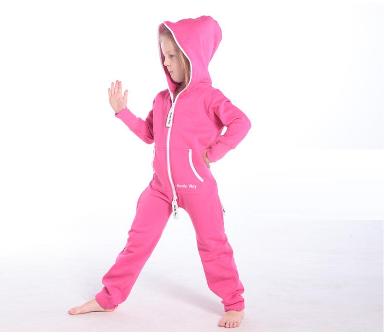 Детский комбинезон Onesie Original розовый KOC14