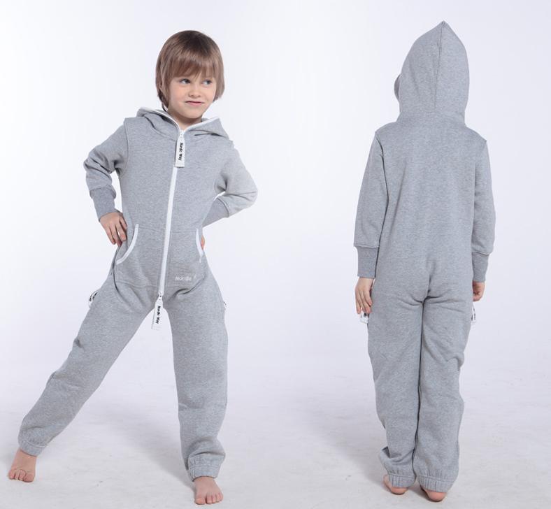 Детский комбинезон Onesie Original серый KOC10 3