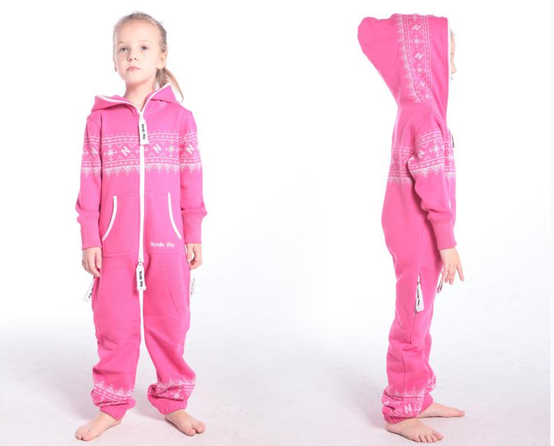 Детский комбинезон Winter Print розовый K0106 1