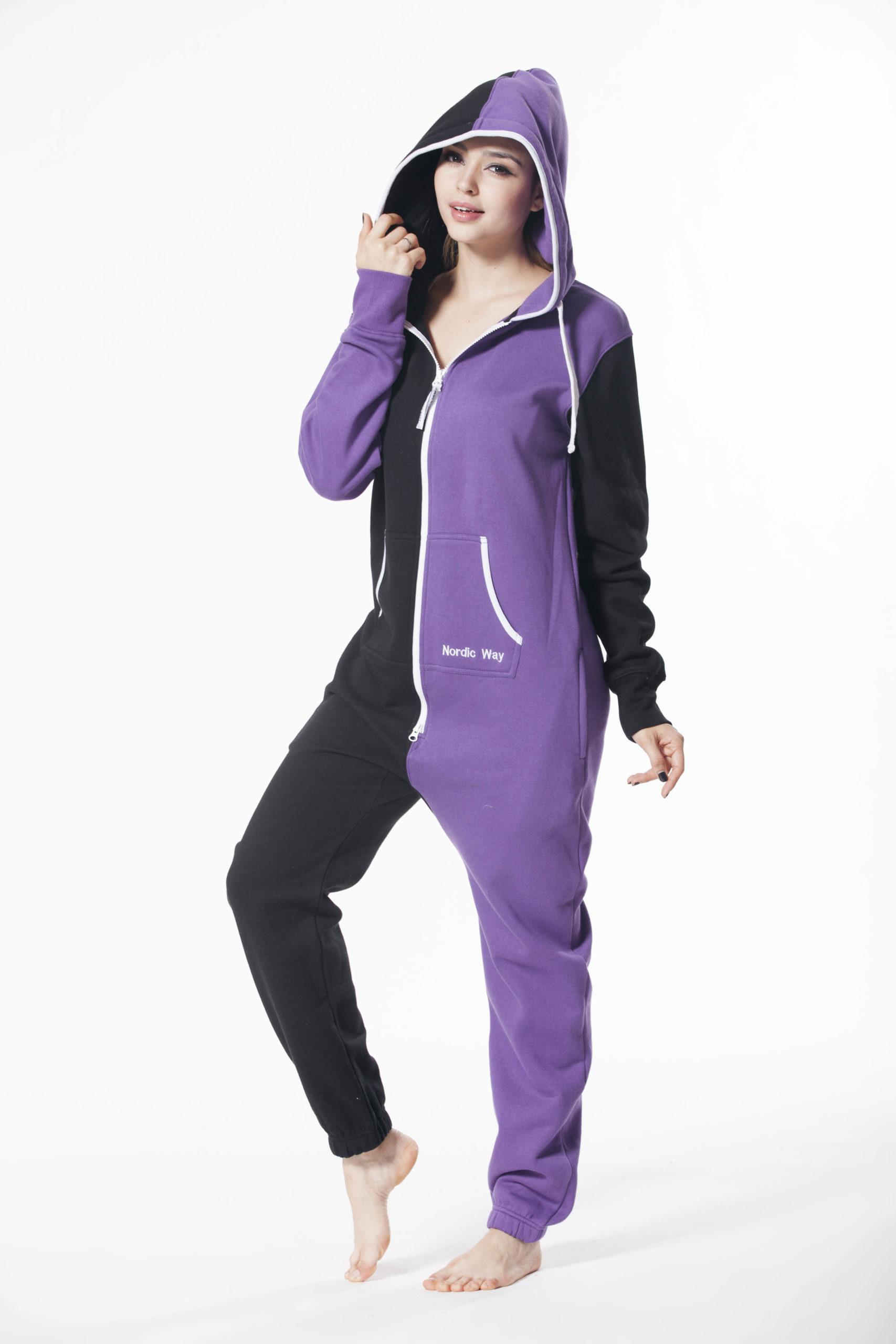 Комбинезон Joker фиолетовый +черный (10) W1504