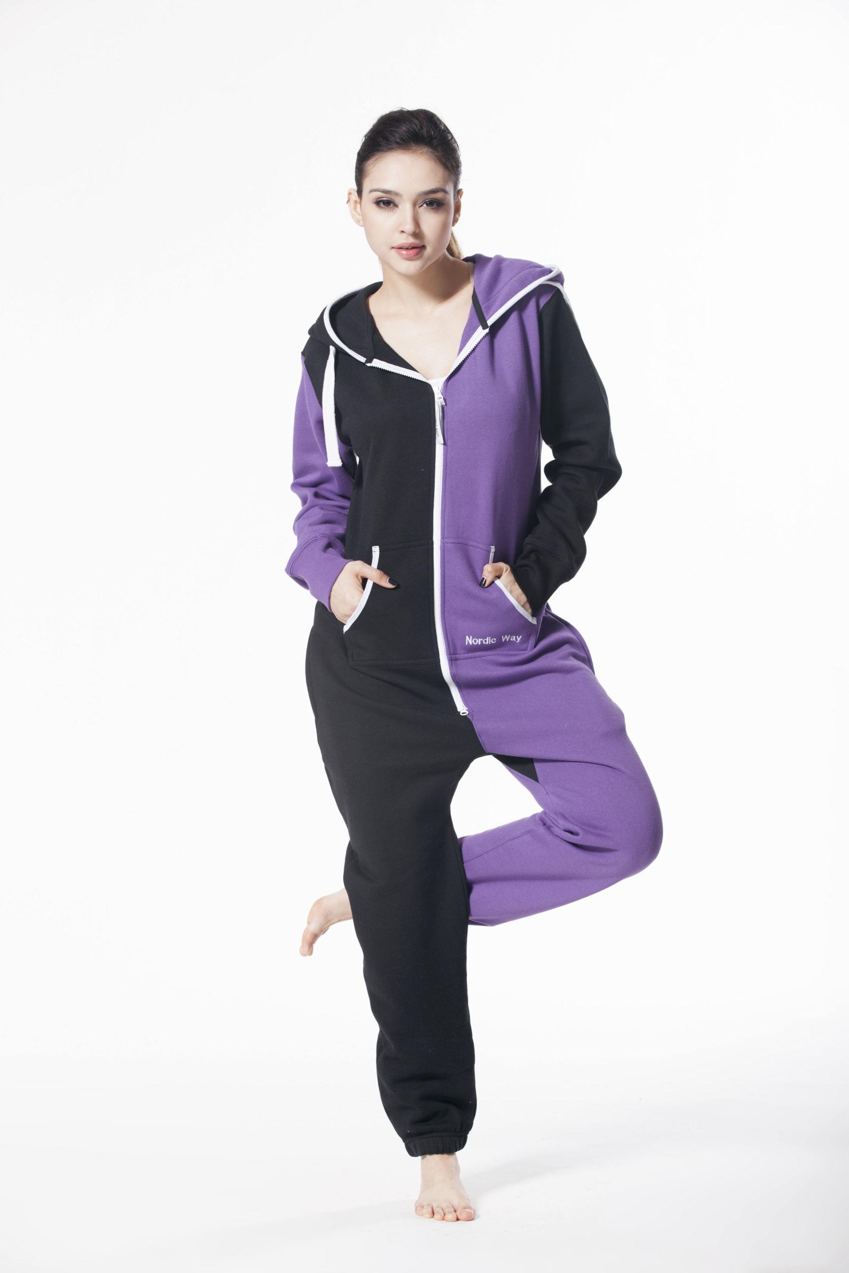 Комбинезон Joker фиолетовый +черный (12) W1504