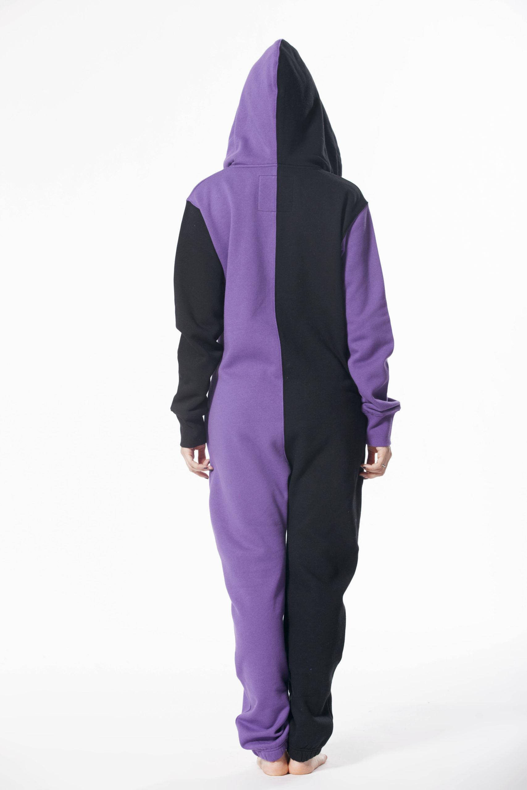 Комбинезон Joker фиолетовый +черный (9) W1504