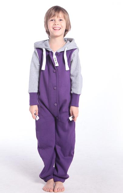 Комбинезон детский Baseball фиолетовый KBB04 2
