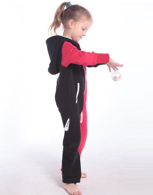 Комбинезон детский Joker черный+красный K1502