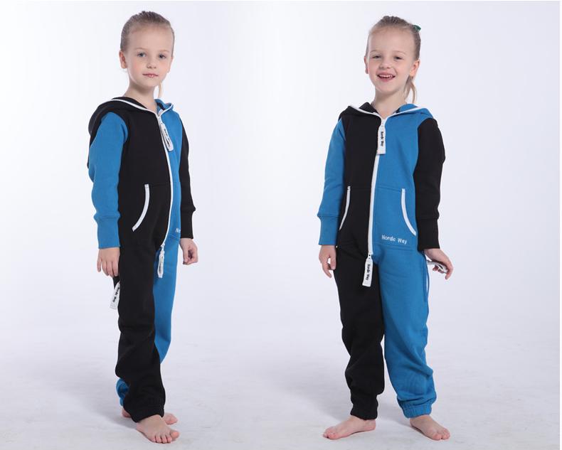 Комбинезон детский Joker черный+синий K1501 2