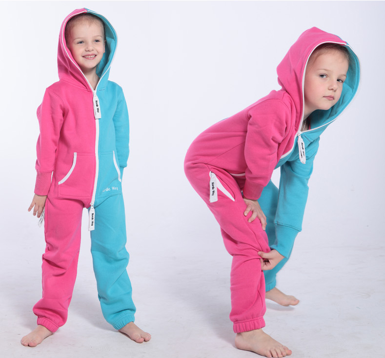 Комбинезон детский Joker розовый+голубой K1503 4