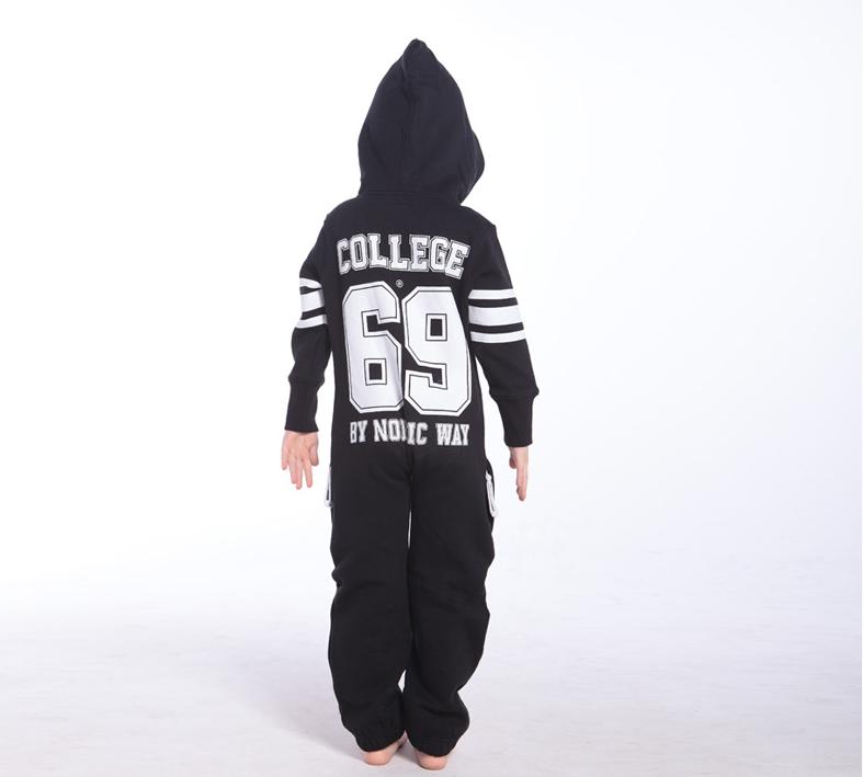 Комбинезон детский черный College KC01 3