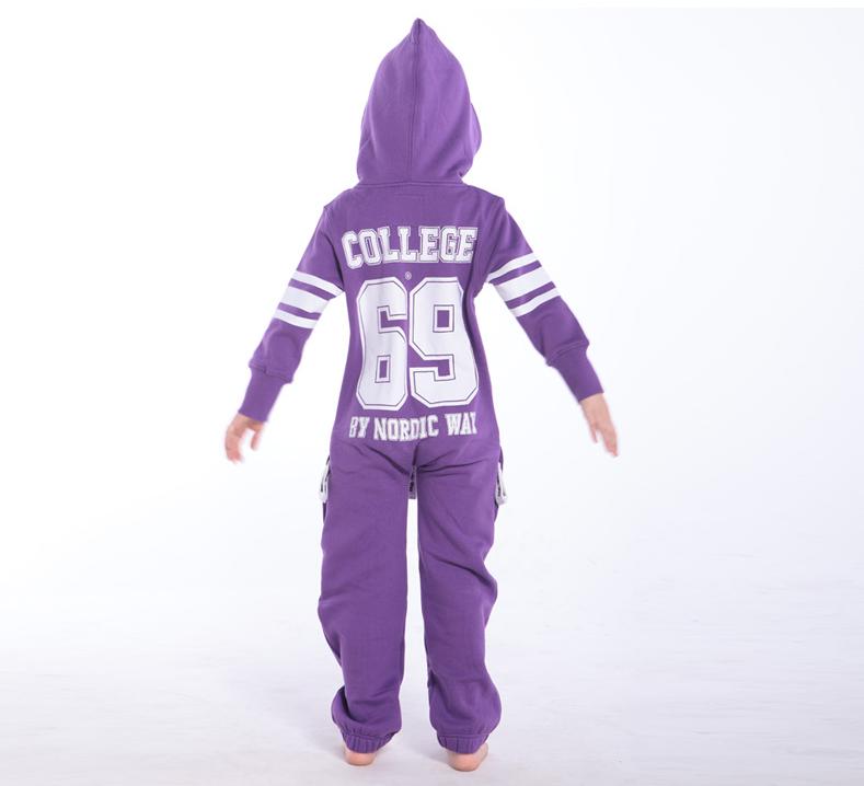 Комбинезон детский фиолетовый College KC04 1