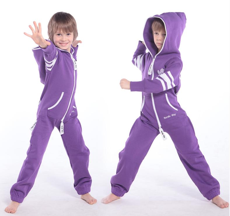 Комбинезон детский фиолетовый College KC04 2
