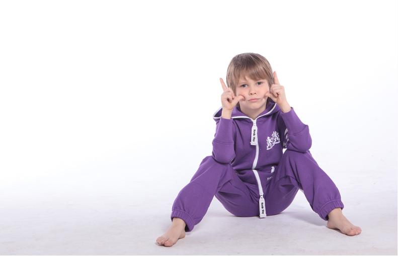 Комбинезон детский фиолетовый College KC04 3