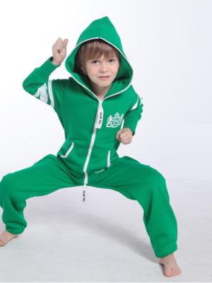 Комбинезон детский зеленый College KC06 1