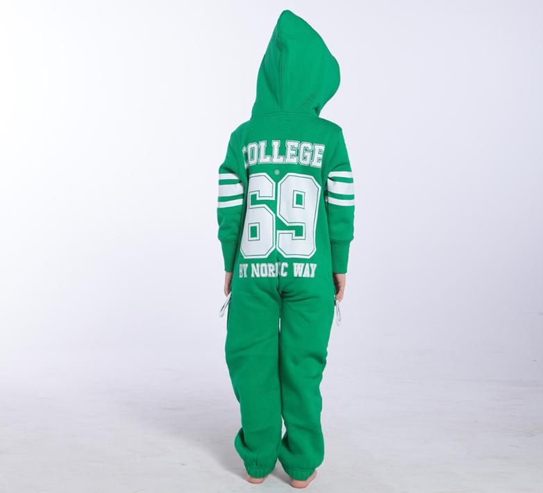 Комбинезон детский зеленый College KC06 3