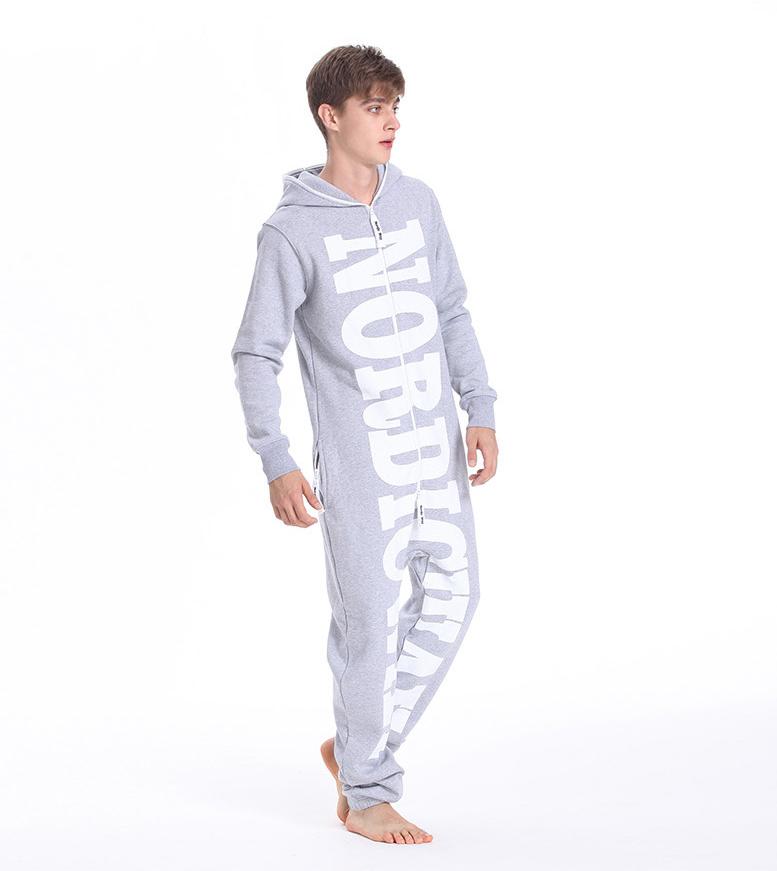 Мужской комбинезон Nordic Way серый MN01 3