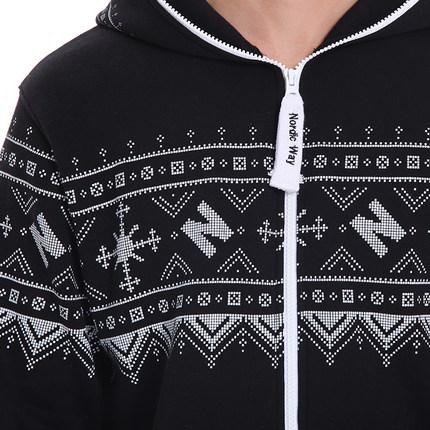 Комбинезон Winter Print Black 1