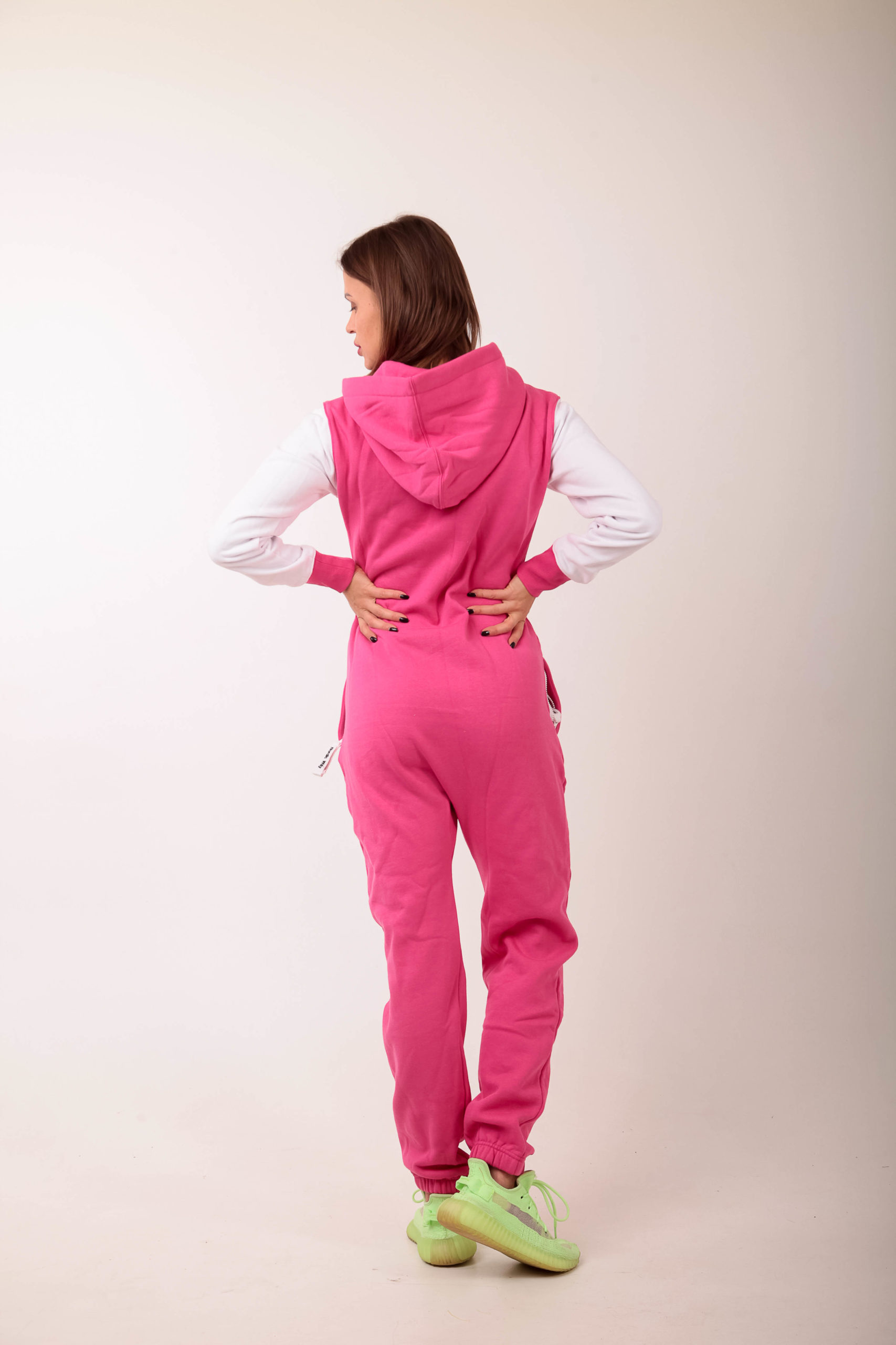 Jumpsuit Baseball Pink