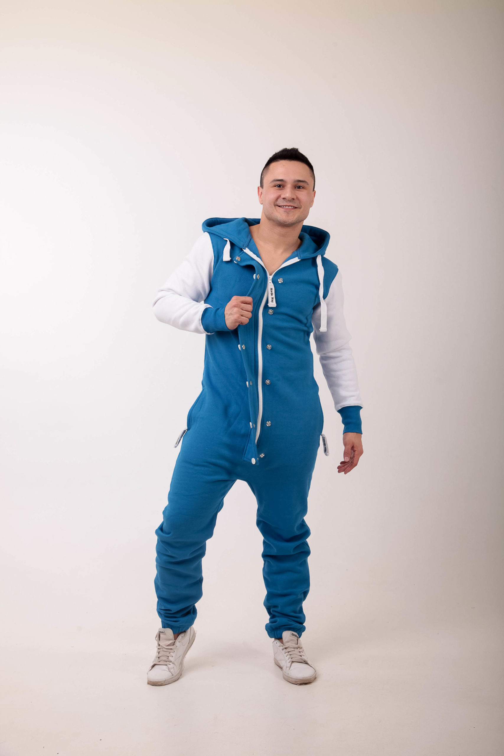 Jumpsuit Baseball blue