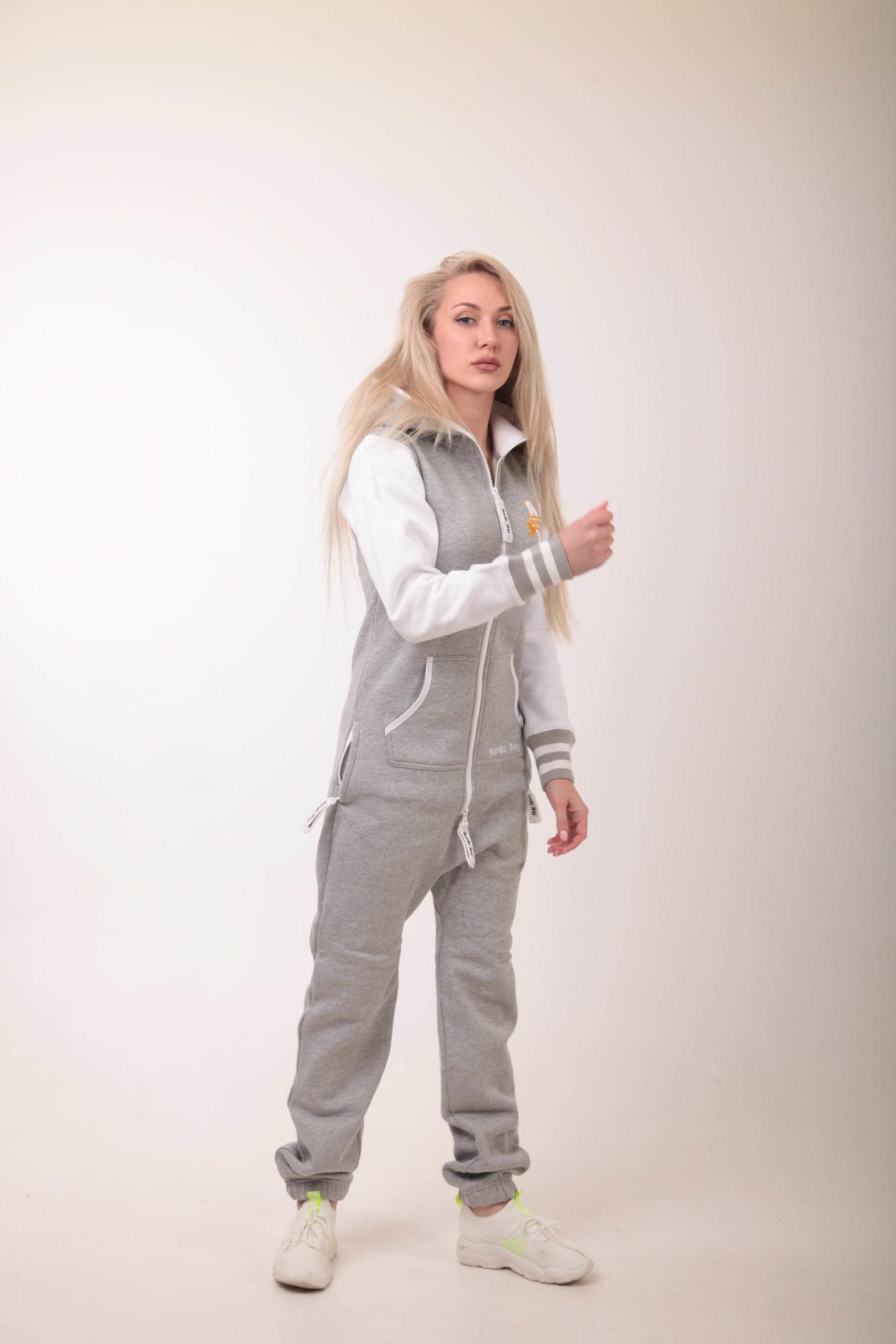 Jumpsuit Nordic way Bomber Gray