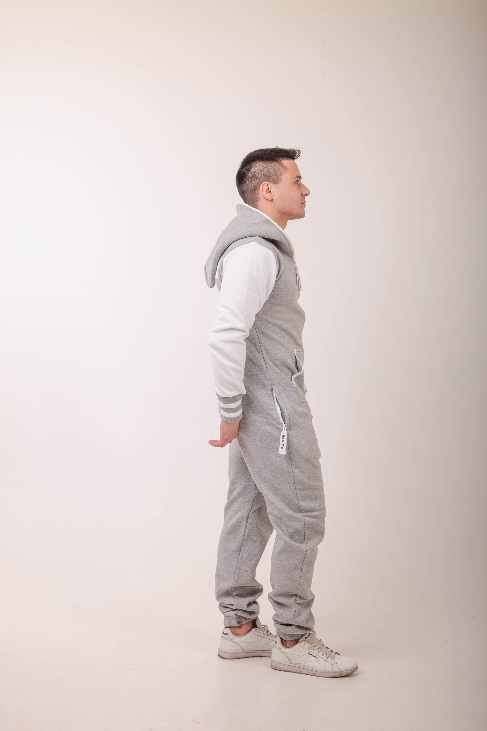 Jumpsuit Bomber Gray